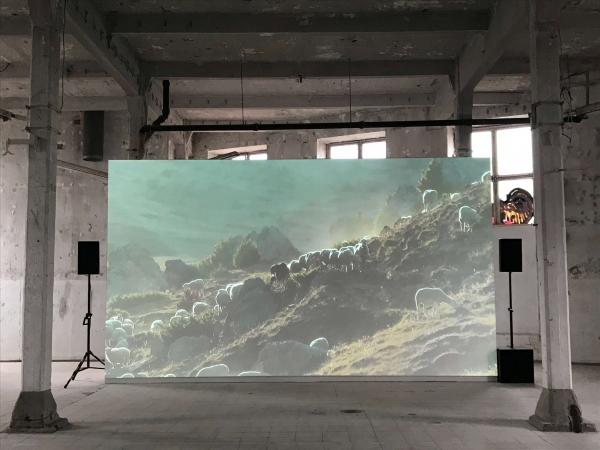HDV, 5:03 Min., 16:9, Color, Stereo / EUROPA, Kraftwerk Bille, Hamburg, 2019